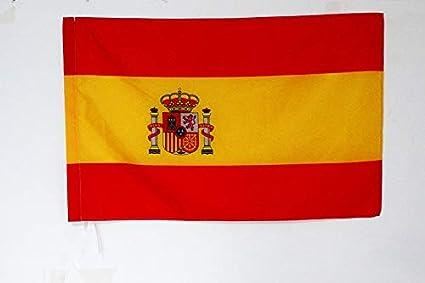 AZ FLAG Bandera Nacional DE Carrera ESPAÑA 90x60cm para Palo - Bandera ESPAÑOLA 60 x 90 cm: Amazon.es: Jardín