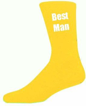 fashion design comprare a buon mercato assolutamente alla moda Calzini gialli da uomo per matrimoni, adatti per i testimoni ...