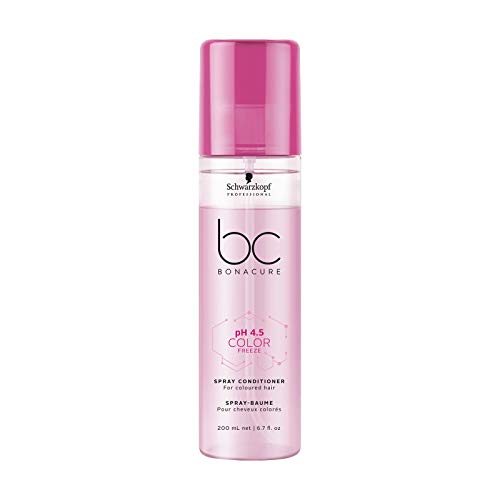Schwarzkopf BC Color Freeze pH 4.5 Spray Conditioner (For Coloured Hair) 200ml/6.7oz]()