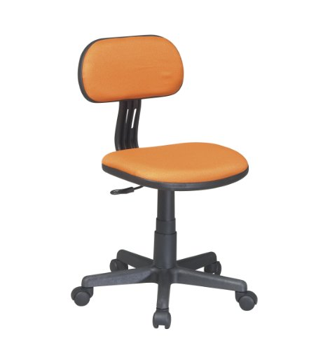 Osp Designs Task Chair In Orange Fabric by Office Star