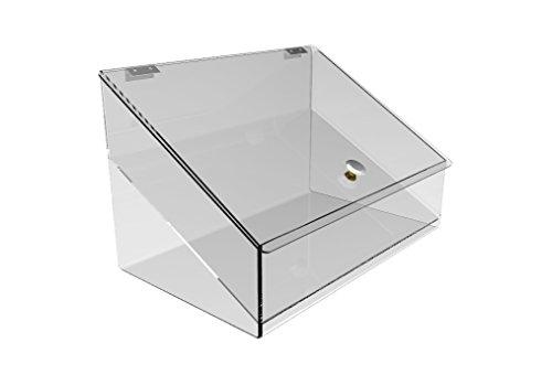 FixtureDisplays Acrylic Plexiglass Lucite Candy Food Retail Bin Container Dispenser 11944 11944! by FixtureDisplays