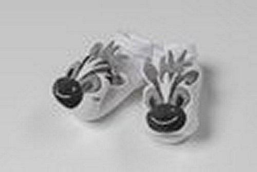 """Schuh/Hausschuh Geburt Pack 2Pcs Geburt Collection Zebra """""""