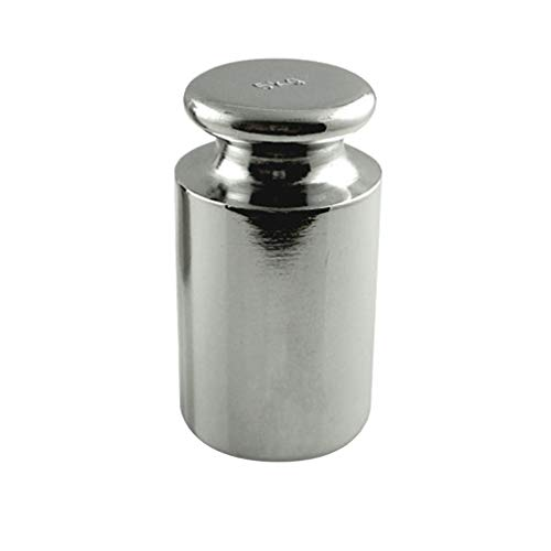 AMERICAN WEIGH SCALES Calibration Weight for AWS Digital Scale, Carbon Steel, Chrome Finish, 5000g (5KGWGT)