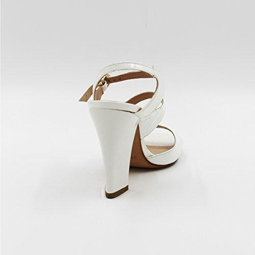 Vernice Sandalo Sandalo Bianco Sandalo Bianco 37 Vernice Vernice Manas Bianco Manas 37 Manas aqIwZE