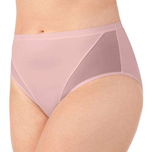 (Vanity Fair Women's Sport Brief Panty 13197, Sheer Quartz, 2X-Large/9)