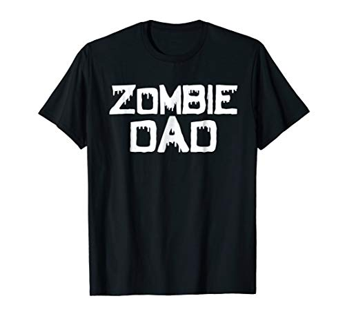 Mens Zombie Dad Halloween T-Shirt For Fathers]()