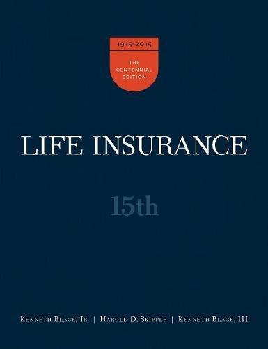 Life Insurance 15th Ed