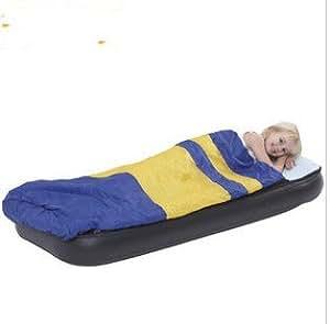 Amazon.com: Children sleeping bags inflatable mattress air ...