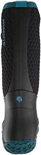 Botas De Media Caña Alpha Lite 14 Para Mujer Lacrosse Celeste Azul / Negro