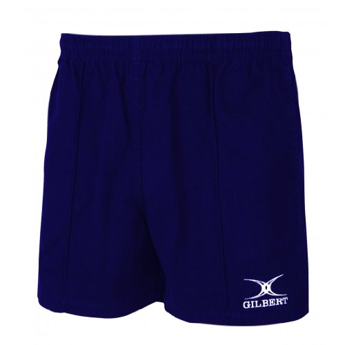 Gilbert Kiwi Pro Rugby Short (Navy, Small) (Rugby Navy Womens)