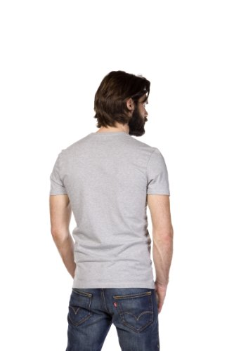 weiss Levi's Mele Homme Blanc Pack Crew 2 T shirt mid Tee Slim 6qP6O