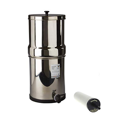 (Doulton W9361123 Stainless Steel Gravity System with ATC Super Sterasyl Candle Filter)