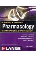 Katzung & Trevor's Pharmacology Examination And Board Review, 10e [Paperback] [Jan 01, 2012] Trevor