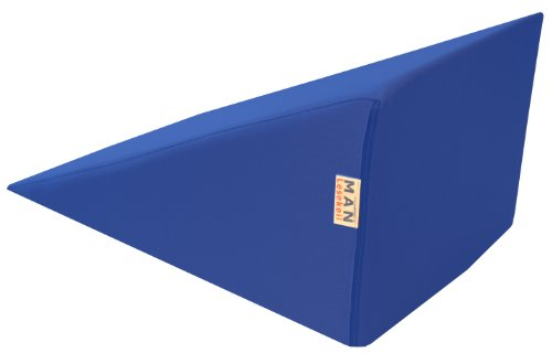 Lesekeil MAN180 - 50x32x Höhe 26 cm Bezug Farbe blau