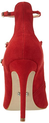 Zs Escarpins Femme 16 Kid Buffalo Red236 London Rouge 6523 Suede Bqwg5
