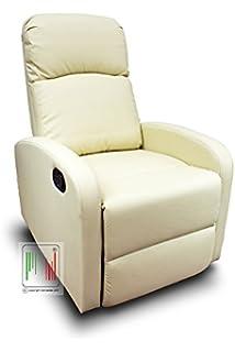 Poltrona Reclinabile Carrefour.Poltrona Relax Reclinabile Con Poggiapiedi Recliner Sistema