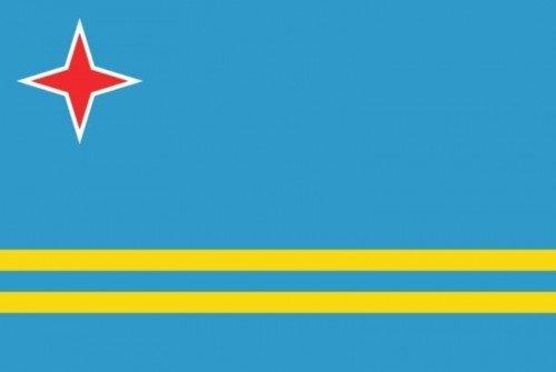 国旗 オランダ領アルバ旗 90×150cm