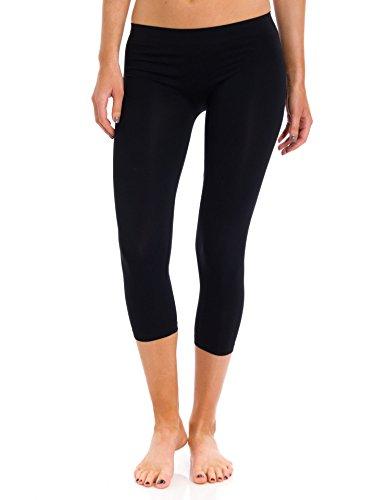 Sugarlips Capri Leggings, Black, One-Size
