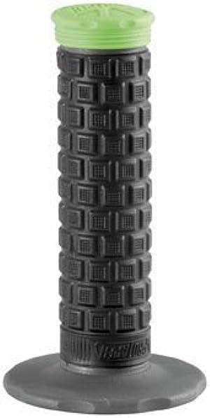 Pro Taper Pillow Top Lite MX Grips - Black/Grey/Green by Pro Taper