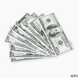 Play Money - 100 pcs