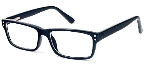 c75ffad0f4e Mens Glasses Frames - Suitable for Prescription Glasses - Black   Amazon.co.uk  Health   Personal Care