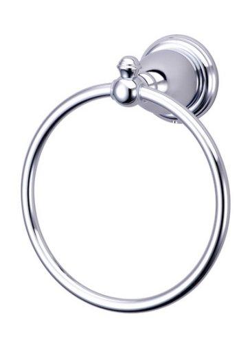 Kingston Brass BA7974C English Vintage Towel Ring, Polished Chrome