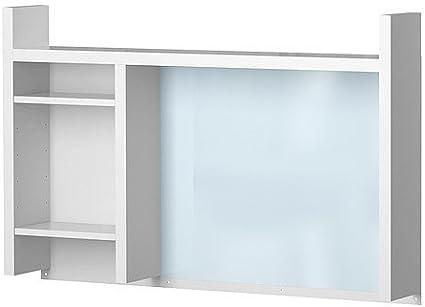Ikea MICKE - Unidad de Add-Alto, Blanco - 105x65 cm: Amazon.es: Hogar