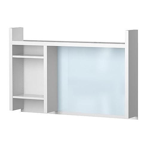 Schreibtisch ikea weiß  IKEA MICKE Anbauelement für Schreibtisch; in weiß; (105x65cm ...