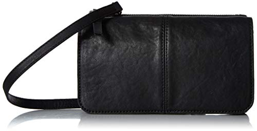 Lucky Dev Convertible Wallet, Black/ 001 (Cross Flap Lucky Brand Bag Leather Body)
