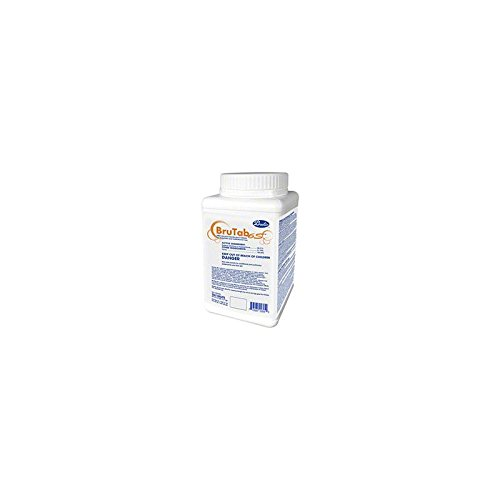 Brulin Brutab 6S Sanitizer Tablet F/Gallon 256 Per Tub, 1 Tub