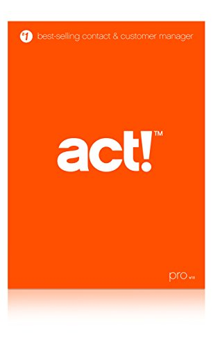 Act! Pro v18 (2016) DVD - Includes 1 Hour Act! 101 Training Webinar