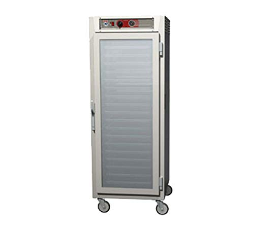 - Metro C569-NFC-L C5 6 Series Reach-in Heated Holding Cabinet, Full Height, Aluminum, Full Length Clear Door, Lip Load Aluminum Slides