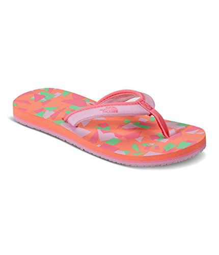 - The North Face Base Camp Mini Flip-Flop Youth Lilac Sachet Pink/Pink Lemonade 9