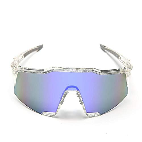UV400 Polarized Cycling Sun Glasses Outdoor Sports Mtb Mountain Bicycle Glasses Bike Sunglasses Cycling Eyewear Goggle,Clear