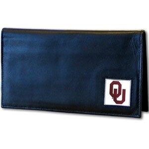 Siskiyou NCAA Oklahoma Sooners Leather Checkbook Cover