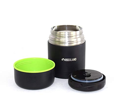 Food Jar for Hot Food ROCKLAND COMET 16.9 Oz Double Wall Vacuum Insulated Thermos Lunch Container Wide Mouth Easy to Clean Stainless Steel Lunch Box Travel Outdoor Camping School - Ounce Thermos 16.9