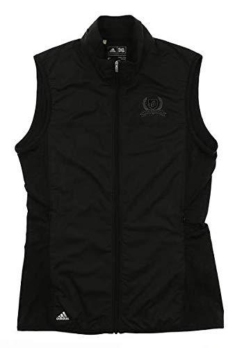 adidas Golf Women's Essentials Wind Tech Vest, Black, Small