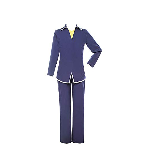 Fruits Basket Souma Yuki Souma Kyo Cosplay Costume School Uniform Suit Full Set Halloween (Souma Kyo,S)