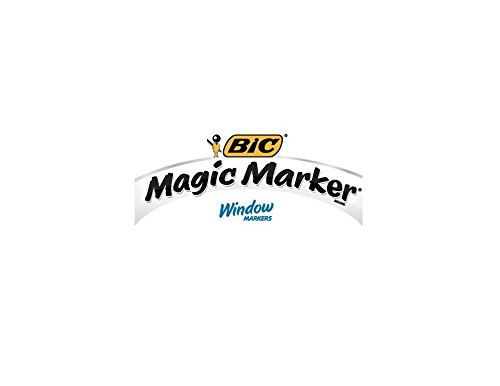 BIC Jumbo Chisel Magic Window Markers, Blue (BICMWXP11BE) by BIC (Image #3)