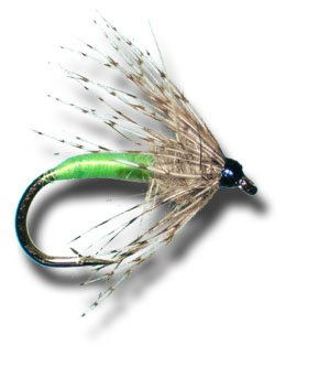 Partridge & Green Wet Fly Fly Fishing Fly - Size 10 - 3 Pack (Partridge Fishing Fly)