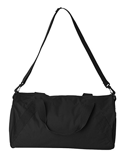 Recycled Small Duffle (NEW Liberty Bags Recycled Small LIGHT WEIGHT WORKOUT BALL Duffle Gym Bag BLACK)