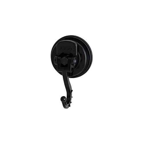 FECA FE-H1041 Medium Swivel Suction Hooks with 8 lb. Suction Power, Black low-cost