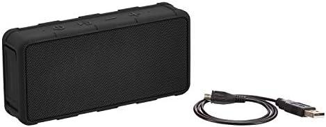 Amazon Fundamentals Transportable Outside IPX5 Waterproof Bluetooth Speaker – Black, 5W