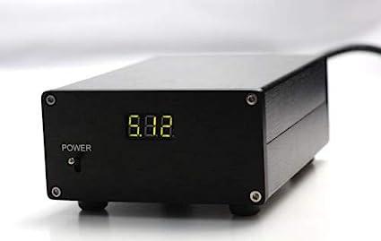 FidgetFidget Linear Power Supply with Display 25W DC5V for USB DAC