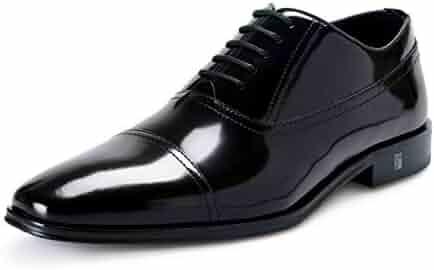 e06693ba3455 Versace Collection Men s Black Leather Lace Up Oxford Dress Shoes US 11 IT  44