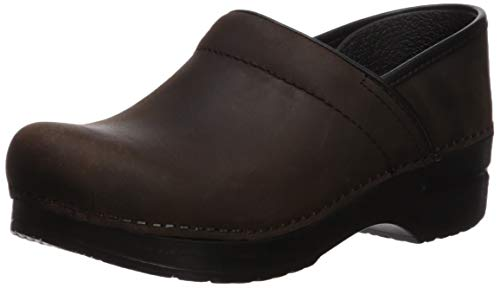 Dansko Professional Narrow Clog,Antique Brown,36 EU/6 N US ()