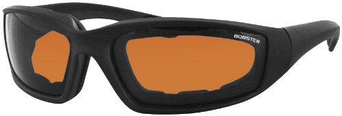Bobster Eyewear Foamerz II Sunglasses , Distinct Name: Black/Amber Lens, Gender: Mens/Unisex, Primary Color: Black - Part Sunglass Names