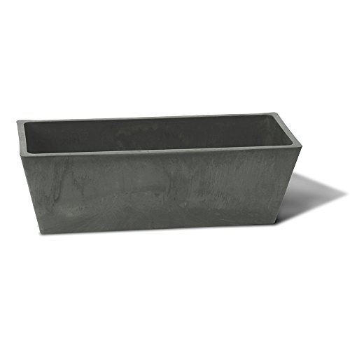 Algreen Valencia Windowsill Planter Charcoal