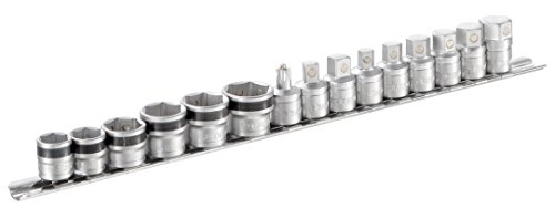 Facom mb-j15pg Nozzle Drain Socket and 6Magnetic Storage Rack, Set of 9 by Facom (Image #1)