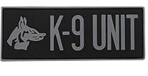 Morton Home K-9 Unit 3D PVC Rubber Tactical Morale Badge Patches